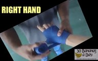 HOW TO WRAP HANDS FOR BOXING KICK BOXING MUAY THAI MMA. HOW TO WRAP YOUR HANDS