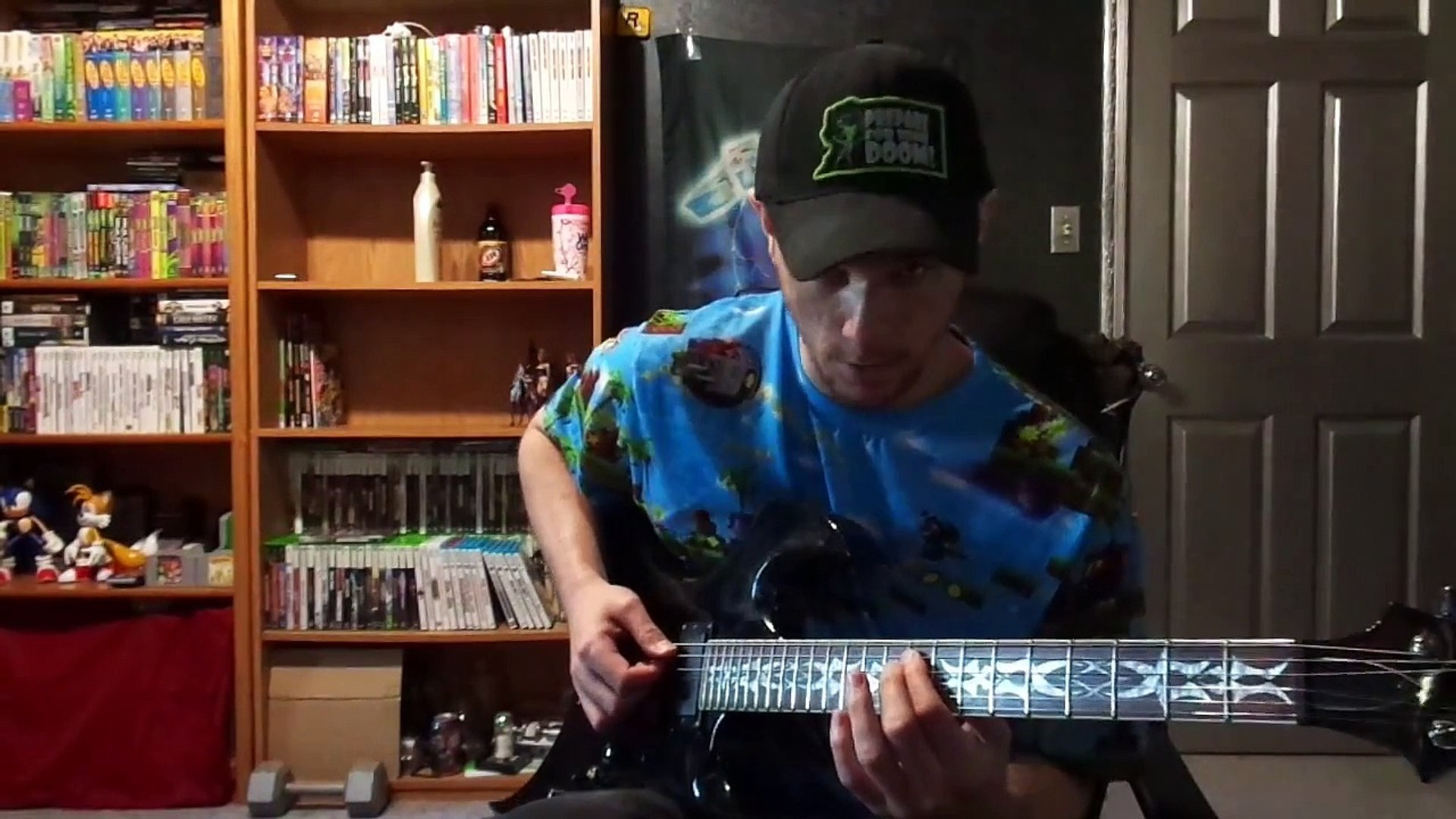 Guitar Lesson Sonic The Hedgehog 3 Major Boss How To Play By Tab Method Video Dailymotion