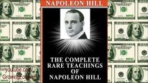 Napoleon Hill on Purpose & Motive - Abundance, Think And Grow Rich, Law of Attraction, Prosperity