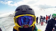 Ski freestyle les Deux alpes edit Hugo Chisci