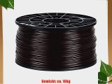 NuNus 3D Drucker/Printer ABS Filament 3mm 1KG braun f?r 3D Drucker MakerBot RepRap MakerGear
