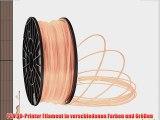 PLA Filament f?r 3D Drucker Printer 175mm 30mm je 1KG verschiedene Farben (Haut 1.75mm)