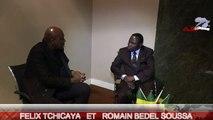 J.CLAUDE TCHICAYA INTERVIEW CHOC AVEC LE FUTUR CANDIDAT ROMAIN BEDEL SOUSSA REP DU CONGO BRAZZAVILLE