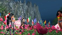 Nickelback - When We Stand Together - Mishe and Celtic's Pillowfight event !!  Secondlife Machinima