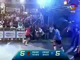 Maradona & Enzo VS Messi & Tevez Football Tennis