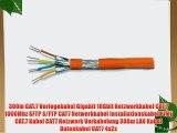 300m CAT.7 Verlegekabel Gigabit 10Gbit Netzwerkkabel CAT.7 1000Mhz SFTP S/FTP CAT7 Netwerkkabel