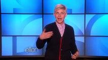 Ellen is Jet-Lagged