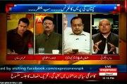 EXPRESS Express Spatial Imran Khan with MQM Salman Mujahid Baloch (24 July 2015)