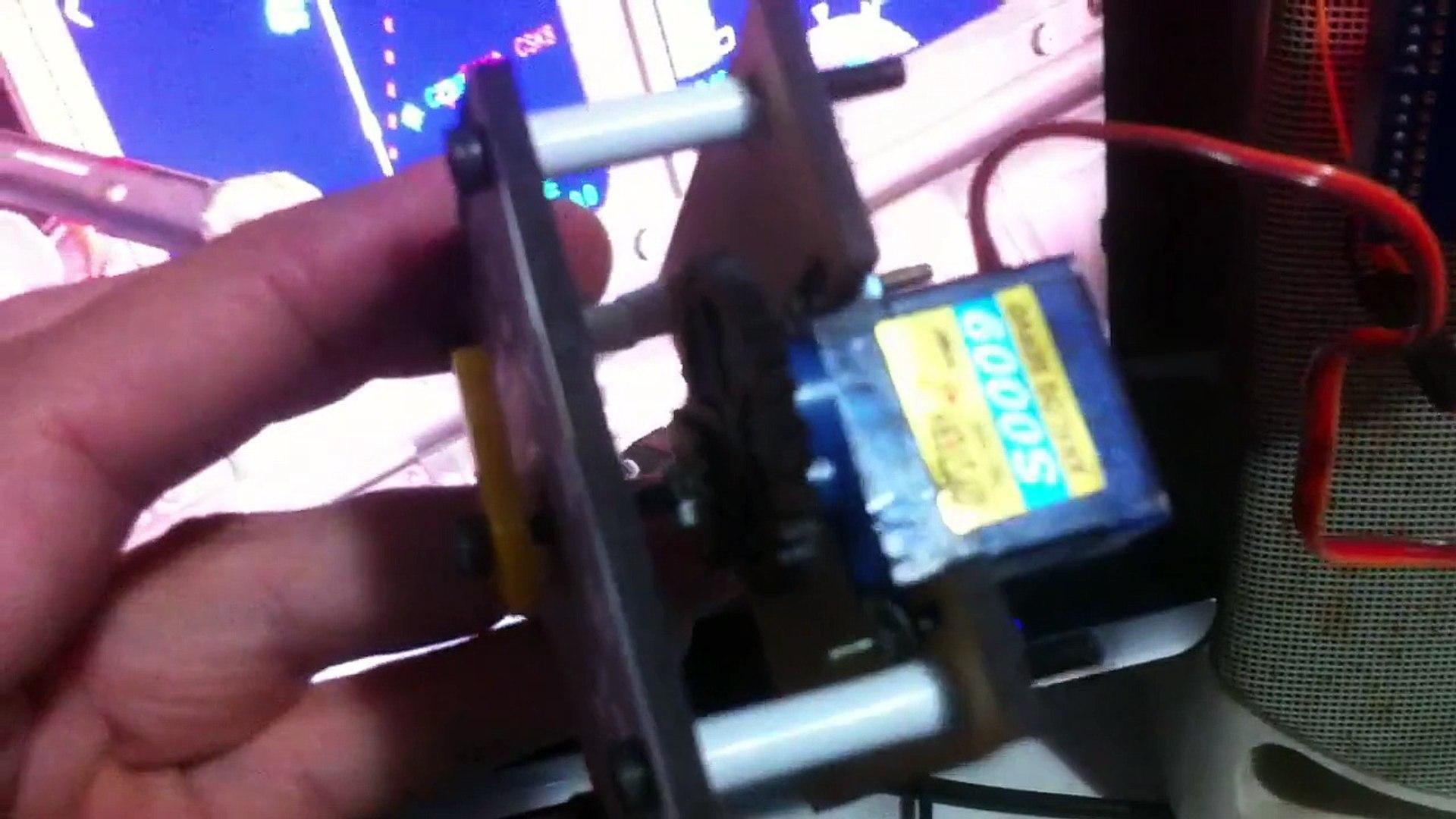 737 NGX Flap Gauge arduino fsx link2fs video 2