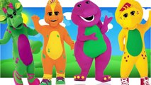 Barney The Dinosaur | Barney & Friends Finger Family Nursery Rhymes | Good, Clean Fun