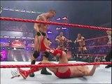 Evolution (Batista, Ric Flair, Triple H) vs Rated RKO (Randy Orton, Edge) & Umaga - RAW 10.12.2007