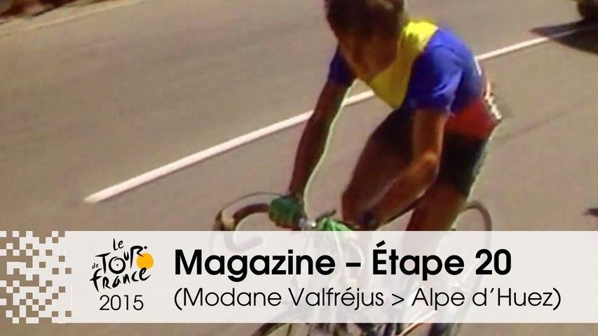 Magazine - Étape 20 (Modane Valfréjus > Alpe d'Huez) - Tour de France 2015