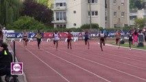 Finale 100 m Espoirs Filles