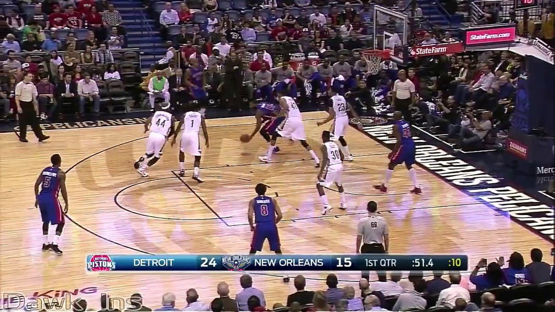 Anthony Davis Full Highlights 2015.03.04 vs Pistons - 39 Pts, 13 Rebs, 8 Blks, UNREAL!