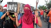Marcha de 'indignados' contra la corrupción en Honduras