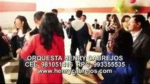 ORQUESTAS EN LIMA ORQUESTAS PERU matrimonios bodas henry cabrejos y orquesta