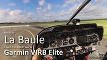 Robin DR400 décollage La Baule-Escoublac et atterrissage St-Cyr