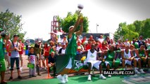 "5'9"" T-Dub Wins LEGENDARY Dunk Contest vs Jus Fly & Rudeboi; Crazy Dunk After Crazy Dunk!"