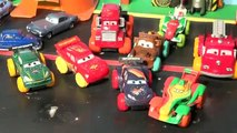 Pixar Cars with Hydro Wheels Lightning McQueen, Hydro Wheels Mater ,Red,Mack and Francesco more Poo