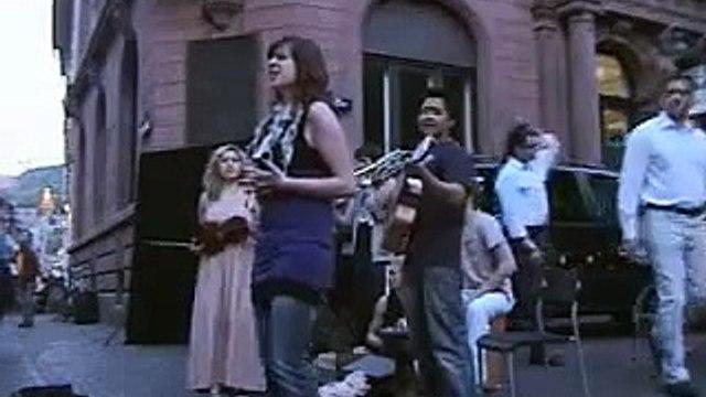 Çav bella  -  Bella ciao  -  Alyuvar sokak konserleri  -  Heidelberg