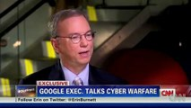 IRANIANS ARE CLEARLY A CYBER THREAT IN THE FUTURE says Google CEO Eric Schmidt