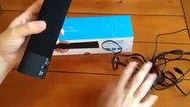"Impressive sound from this ""sound bar"" style Bluetooth speaker"