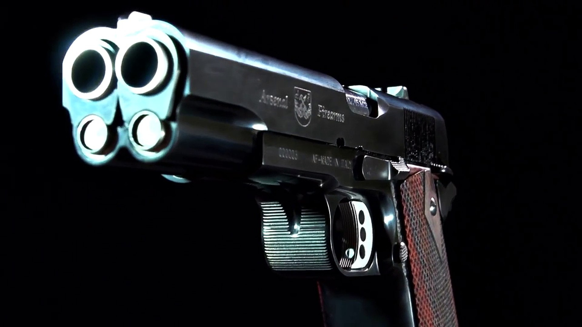 "Af2011 A1 af2011-a1 ""second century"" - double barrel pistol - video"