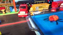 Disney Pixar Cars Lightning McQueen and Mater, with the Screaming Banshee in Hydro Wheels Madness