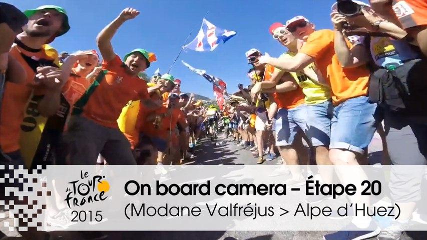 Caméra embarquée / On board camera - Stage 20 (Modane Valfréjus / Alpe d'Huez) - Tour de France 2015