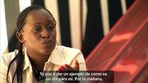 Entrevista a Caddy Adzuba, periodista congoleña / Interview avec Caddy Adzuba