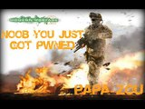 Modern Warfare 2 Rap - Noob You Just Got Pwned (Kiss Me Thru the Phone by Soulja Boy Parody)