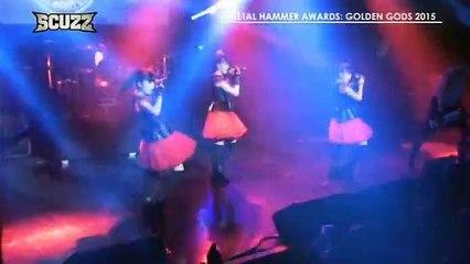 BABYMETAL x DragonForce - Gimme Chocolate! (Metal Hammer Golden Gods Award 2015)