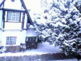 Il neige sur Bruxelles