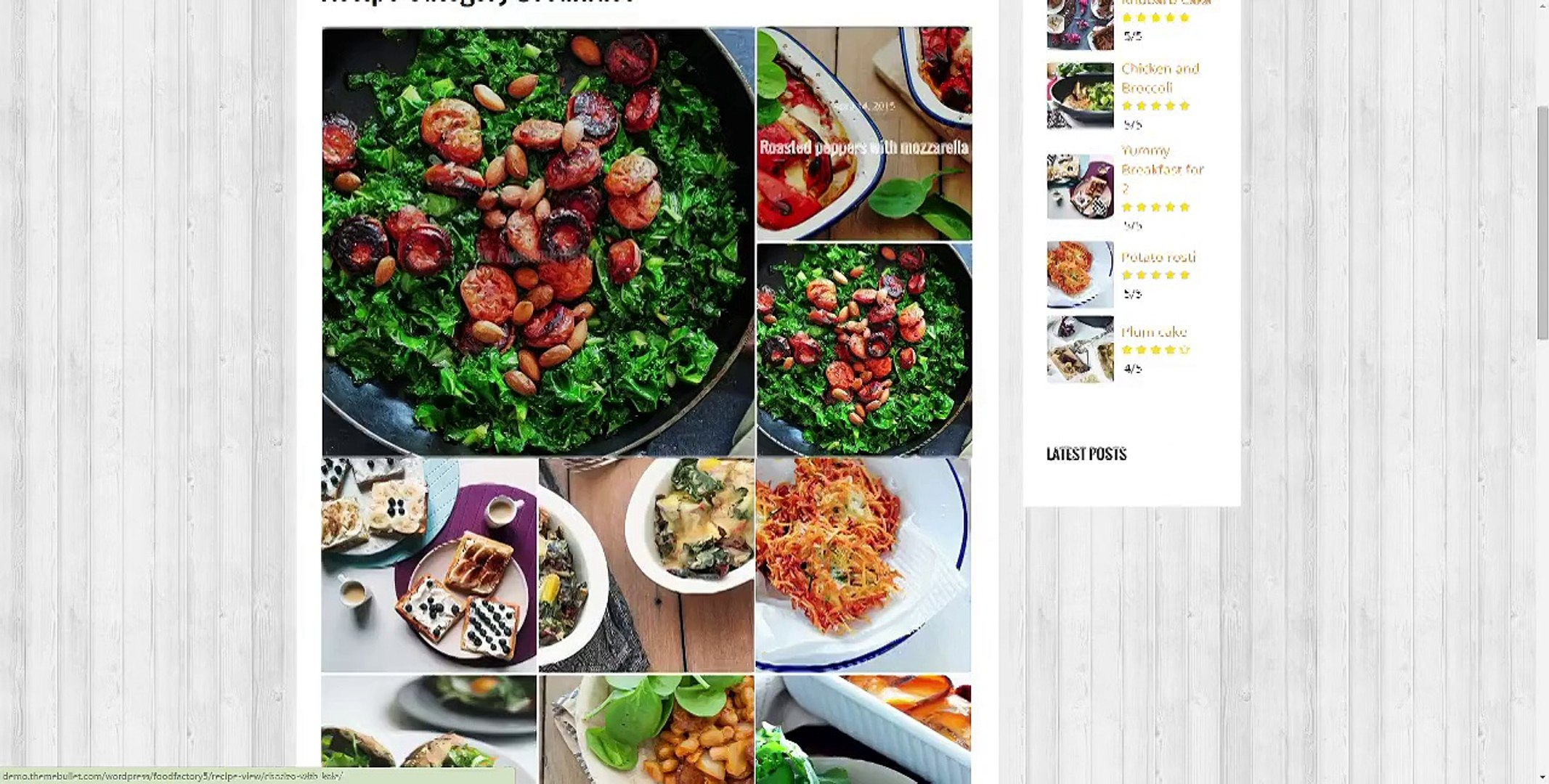 How To Add Recipe Post To WordPress - Tutorial For Food Factory WordPress Theme
