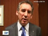 Interview de François BAYROU (UDF) - avril 2007 - CBF TV
