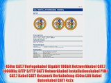 450m CAT.7 Verlegekabel Gigabit 10Gbit Netzwerkkabel CAT.7 1000Mhz SFTP S/FTP CAT7 Netwerkkabel