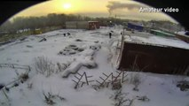 Russian meteor: Meteor explodes in flash of brilliant light over Russian Urals scattering meteorites