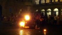 Fire show pigus! spettacolo col fuoco a Trastevere, Roma