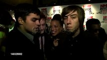NME Awards 2012: Cast of Skins