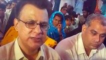 10 Days Dharna- Ayaz Latif Palijo media briefing 3rd Day in Dharna camp on 25, July 2015