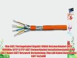 70m CAT.7 Verlegekabel Gigabit 10Gbit Netzwerkkabel CAT.7 1000Mhz SFTP S/FTP CAT7 Netwerkkabel