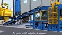 Chaine de fabrication automatique de brique/bloc QT 10-15, QT 10-15 automatic block machine