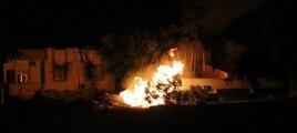 Siirt'te polis karakolu, Nusaybin'de polis aracı tarandı