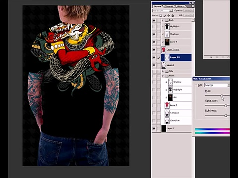 How to make a Tshirt Template