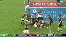 Rugby Championship - l'essai de Ben Smith - All Blacks Springboks