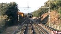 Linea Tirrenica Roma - Livorno 9° Tratto Treno Prove Archimede (dalla cabina)