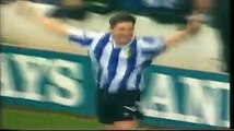 Owls 3 Man Utd 2 - Sheff wed Sheffield Wednesday Jemson David Hirst