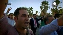 Kurden protestieren gegen türkische Angriffe