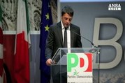 Renzi attacca sindacati su Pompei e Alitalia