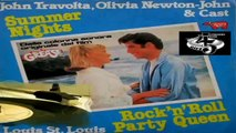Summer Nights/Rock 'n' Roll Party Queen - John Travolta, Olivia Newton-John/Louis St. Louis ‎1978